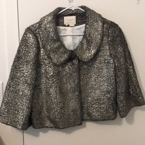 Gorgeous Kate Spade Metallic Crackle Jacket